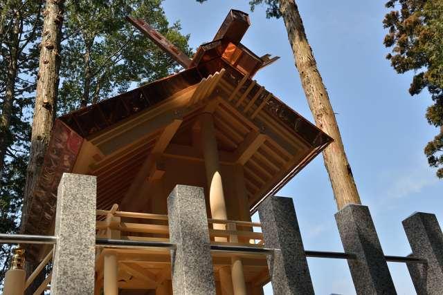 八百津神明神社 側面