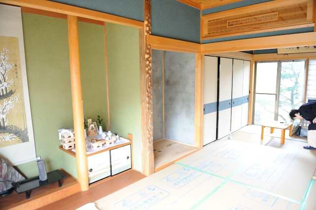 御霊舎施工例12 仏壇の移動