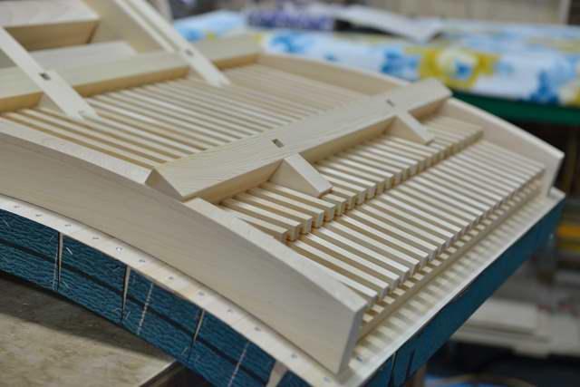 稲荷宮尺組立 屋根2段垂木