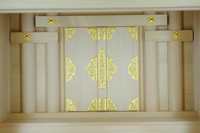 3尺型御霊舎ガラス建具 御扉