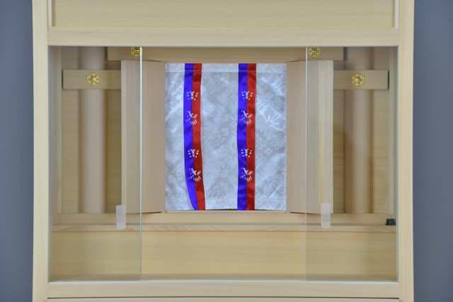 3尺型御霊舎ガラス建具 戸張