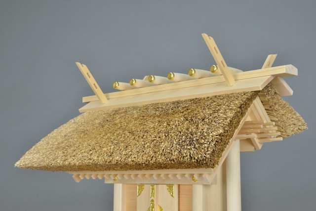 茅葺一社宮 茅葺屋根