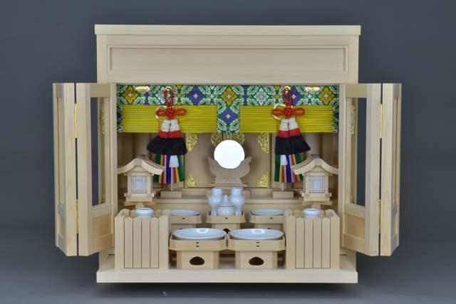 2尺型御霊舎 ガラス建具特別神具セット