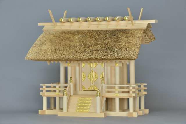 茅葺一社宮 正殿型