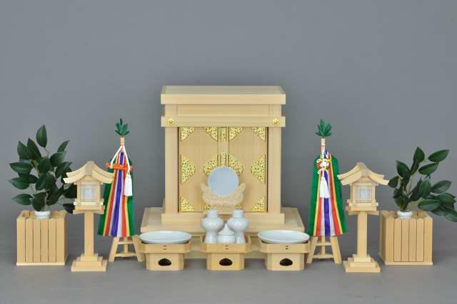 小型御霊舎 金具付 特別神具セット