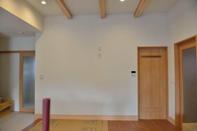 施工例12 格子付棚板の取付 施工前