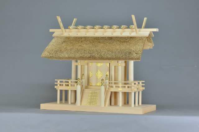 施工例16 茅葺一社神明宮