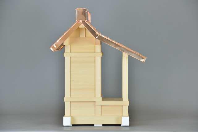 折れ屋根宮8寸 側面