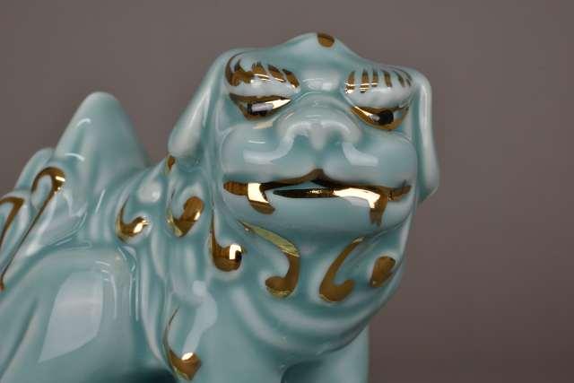 狛犬 「吽」のお顔