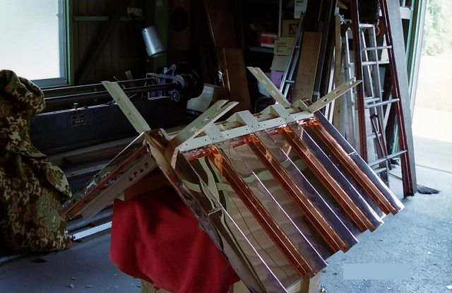 神明造宮 2尺 オガワラ葺屋根 銅板葺