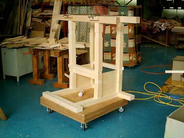 略式流れ造宮 2尺 胴組立