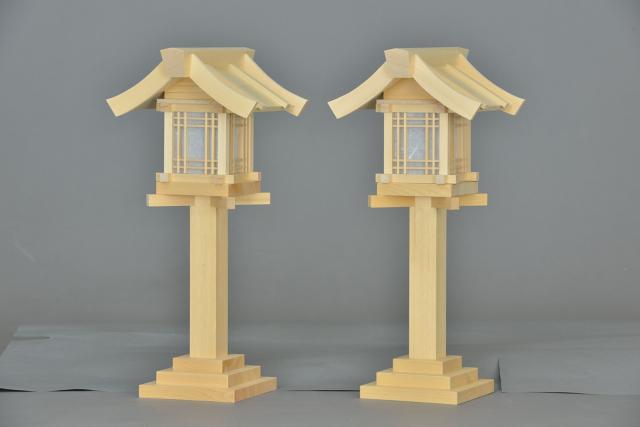 木製灯篭尺