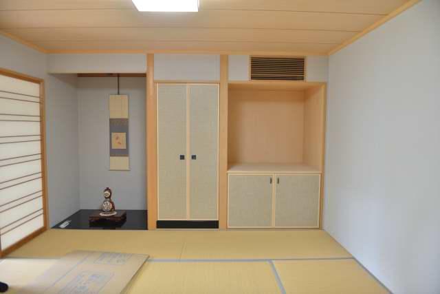 御霊舎施工例13 和室の一角