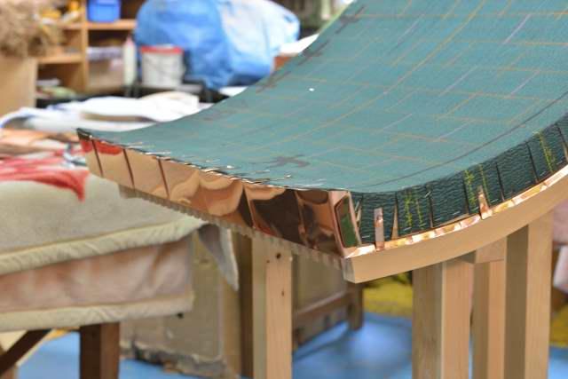 稲荷宮7寸 銅板葺