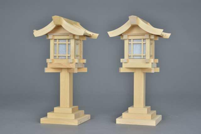 神具 木製灯籠
