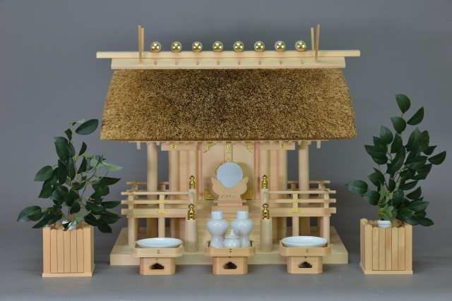 茅葺一社宮(正殿型)標準神具セット