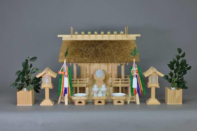 茅葺一社宮(正殿型)特別神具セット