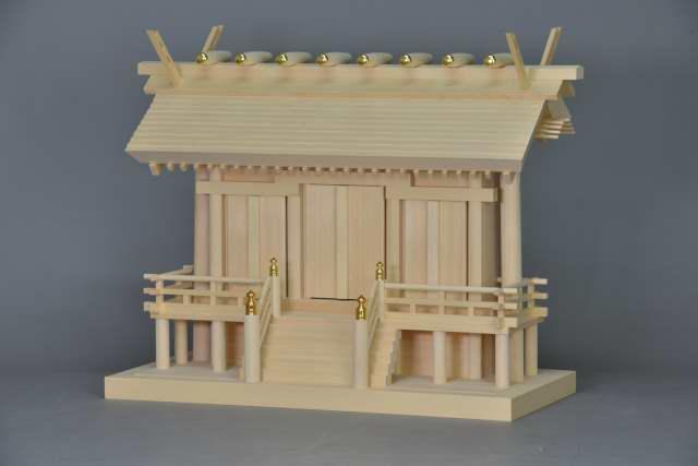 厚屋根通三社宮(中) 金具なし 斜面