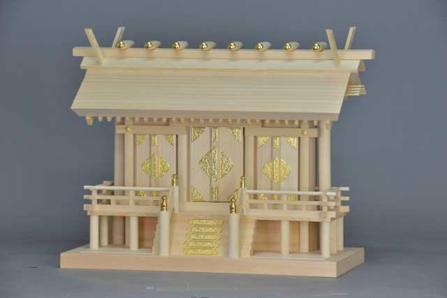 厚屋根三社宮(中)金具付