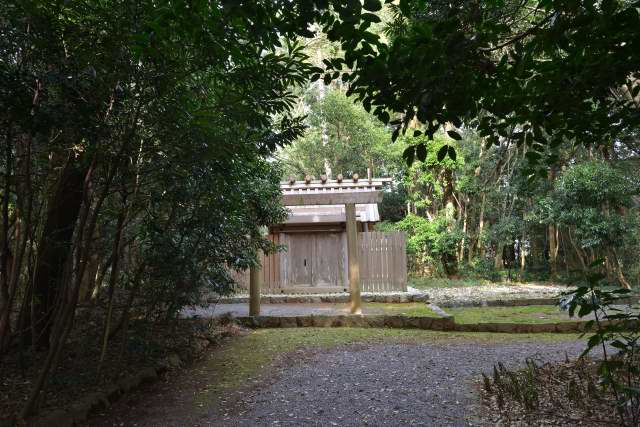 蚊野神社 参道
