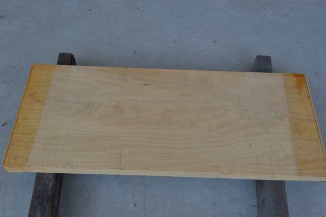 桧の一枚板014 木裏