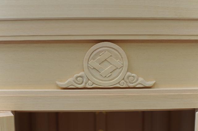 家紋彫刻 丸に井桁