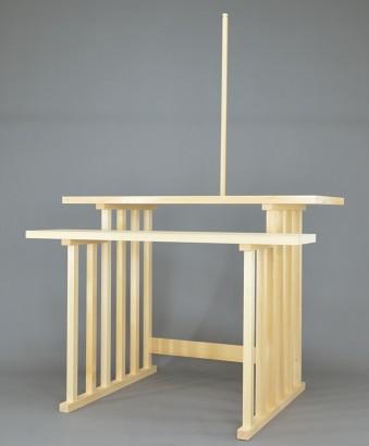 2段式八脚案の神籬棒
