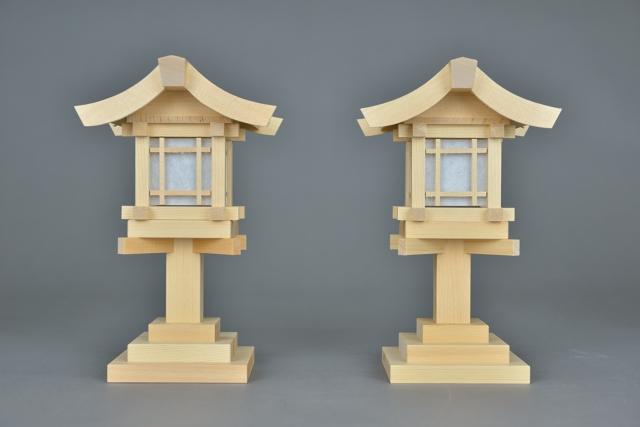 木製灯篭6寸