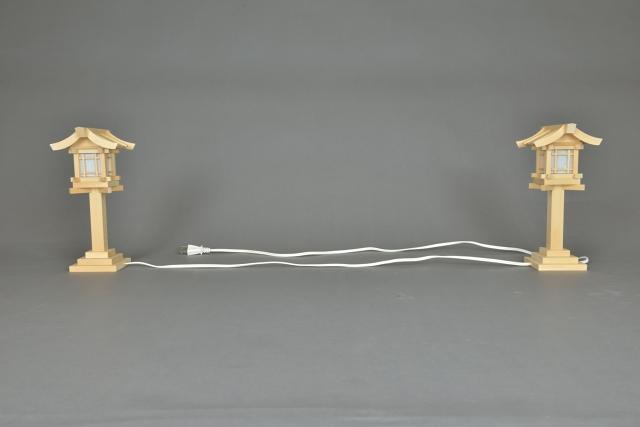 木製灯籠コード式